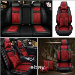 Luxury Auto SUV Truck Car Seats Cover 5-Sits Front Rear Set Cushion All Seasons