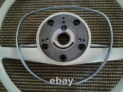 MERCEDES OEM Ivory steering wheel 67 to 72 w113 w108 w109 w114 220se w111 280se