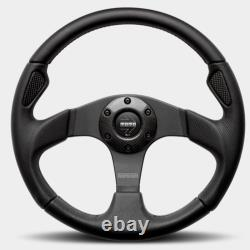 MOMO AUTOMOTIVE ACCESSORIES Jet Steering Wheel Leath er / Air Leather 320mm