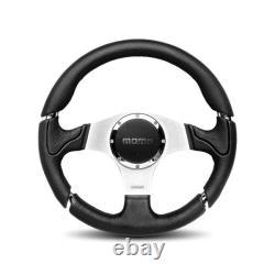 MOMO AUTOMOTIVE ACCESSORIES Millenium Steering Wheel Leather / Airleather