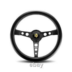 MOMO AUTOMOTIVE ACCESSORIES Prototipo Steering Wheel Black Leather PRO35BK2B