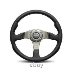 MOMO AUTOMOTIVE ACCESSORIES Race 350 Steering Wheel Leather / Airleather