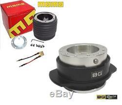 Momo Steering wheel boss and Quick Release hub Seat Leon Mk1 inc Cupra-R