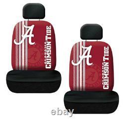 NCAA Alabama Crimson Tide Floor Mats Seat Covers Steering Wheel Cover 11pc Set