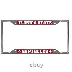 NCAA Florida State Seminoles Floor Mats Seat Covers Steering Wheel Cover 10pc