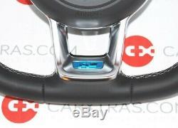 NEW GENUINE VW GOLF Mk7 VII R LINE COMPLETE MULTIFUNCTION STEERING WHEEL