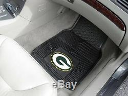 NFL Green Bay Packers Car Truck Seat Covers Floor Mats & Steering Wheel Cover