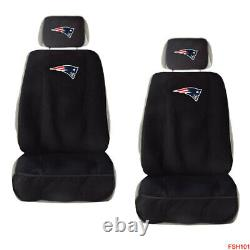 NFL New England Patriots Car Truck Seat Covers Floor Mats & Steering Wheel Cover