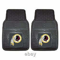 NFL Washington Redskins Car Truck Seat Covers Floor Mats & Steering Wheel Cover