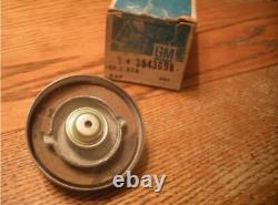 NOS GM Vented Gas Fuel Tank Cap Embossed 3843698 64-70 Chevelle 69 70 Camaro Box