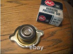 NOS RC15 Original Radiator Cap BIG Ear AC Show Car Mint