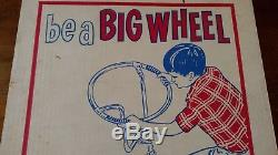 NOS Vintage Iverson Stelber Banana Seat Muscle Bike Steering Wheel Handlebars
