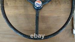 NOS Vintage Murray Eliminator Top Wheel Banana Seat Muscle Bike Steering Wheel