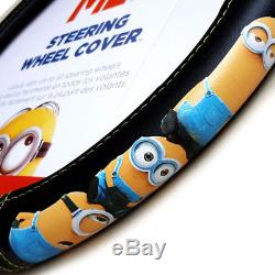 Admirable New 10 Pcs Despicable Me Minion Car Seat Covers Floor Mats Andrewgaddart Wooden Chair Designs For Living Room Andrewgaddartcom
