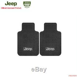 New 9pcs JEEP Factory Logo Car Truck Seat Covers Floor Mats Steering Wheel Cover