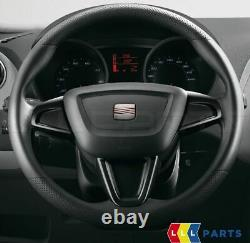 New Genuine Seat Ibiza Mk4 2008-2017 Steering Wheel Trim Piano Black 6j0064245n