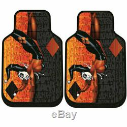 New Harley Quinn Car Seat Covers Floor Mats Steering Wheel Cover Set For Ford