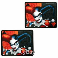 New Harley Quinn Car Seat Covers Floor Mats Steering Wheel Cover Set For Nissan