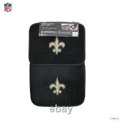 New NFL New Orleans Saints Car Truck Seat Covers Floor Mats Steering Wheel Cover