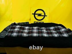 New + Orig Vauxhall Classic Car Seat Cover Checked Set Cushion Fabric Back Panel
