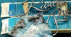 Nos 71 72 73 Buick Riviera Fender Script Emblem Set / Pair Gm Trim Boat Tail