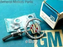 Nos 76 79 Cadillac Seville Hood Ornament Emblem Oem Gm Trim