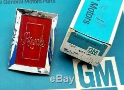 Nos 77 78 Olds Delta 88 Royale Grill Header Panel Emblem Gm Oem Grille Trim