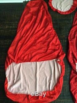 OEM Ferrari Satin Seat Covers + Steering Wheel Cover Fits Many Models F355 575M