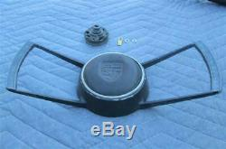 OEM Porsche Steering Wheel Butterfly Horn Button Batwing 911 912 1965-1968 REAL