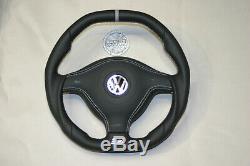 OEM VW steering wheel Golf 4 MK4 3BG Passat B5 Bora R32 GTI Skoda Seat LederManZ