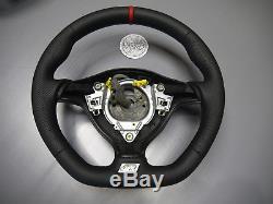 OEM VW steering wheel thick flat bottom Golf 4 MK4 3BG Passat Bora R32 GTI Seat