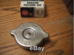 OFFERS Looks like NOS BIG Ear RC15 Radiator Cap Solid Rivet Show Car Mint