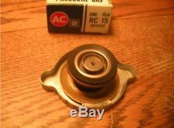 OFFERS NOS RC15 ORIGINAL BIG Ear Radiator Cap Perfect Show Car Mint NEW +Box