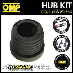 Omp Steering Wheel Hub Boss Kit Seat Leon Mk1 (1m) All 01-06 Od/1960vw237a