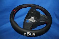 Original Lenkrad Lederlenkrad Seat Ibiza IV 6j 08-13 12uhr Neu Bezogen Se4