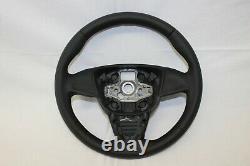 Original Lenkrad Lederlenkrad Seat Ibiza IV 6j 08-13 Neu Bezogen Jk45