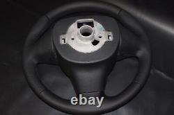 Original Lenkrad Lederlenkrad Seat Ibiza IV 6j 08-13 Neu Bezogen Se17