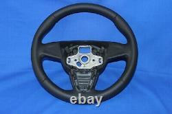 Original Lenkrad Lederlenkrad Seat Ibiza IV 6j 08-13 Neu Bezogen Se22