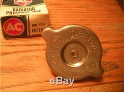 Original NOS BIG Ear RC15 Radiator Cap Shines AC Show Car Mint in box
