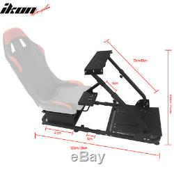 PVC Racing Seat Steering Wheel Stand Compatible with Logitech G29 Thrustmaster