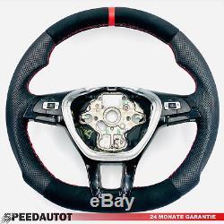 Part Exchange Tuning Flattened Alcantara Steering Wheel VW Golf 7 Passat Candy 4