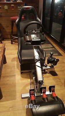PlaySeat Evolution Racing Seat Logitech G27 Steering Wheel Inc PS4 Adaptor & PS3