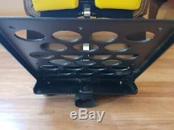 Playseat Kyle Busch Gaming Racing Seat #18 Yellow steering wheel Pedal Mounts