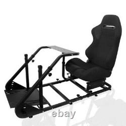 Racing Cockpit Simulator Steering Wheel Stand for Logitech G29 G920 Thrustmaster
