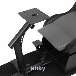Racing Seat Gaming Chair Simulator Cockpit Steering Wheel Stand For PS4, PS3, Xbox