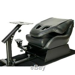 Racing Seat Gaming Chair Simulator Cockpit Steering Wheel Stand Xbox Playstation