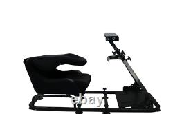 Racing Sim Seat Driving Game Xbox Playstation PC F1 Steering Wheel Pedals Shift