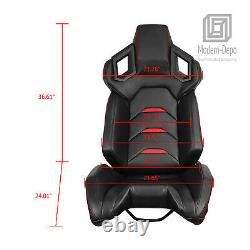 Racing Simulator Cockpit Gaming Seat with Steering Wheel Stand for Logitech G29