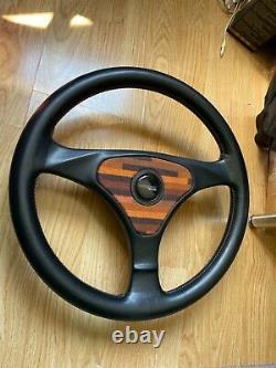 Recaro Steering Wheel Rare Seat 80s For VW Audi Nissan BMW Mercedes E500 Golf