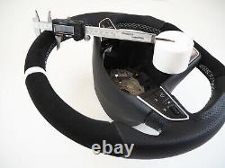 SEAT FR LEON III & Ibiza IV Flat bottom Thumbs INCLUDE Steering wheel Volante